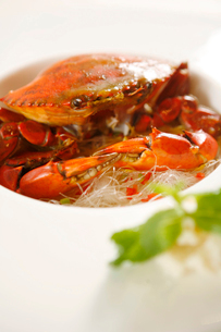 Spicy fried crabの写真素材 [FYI02349101]