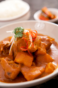 Curry Chickenの写真素材 [FYI02349169]