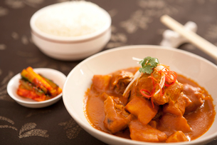 Curry Chickenの写真素材 [FYI02349173]