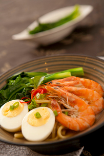 Southeast Asian seafood noodlesの写真素材 [FYI02349198]