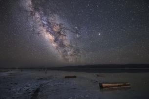 Mirror starry nightの写真素材 [FYI02349223]