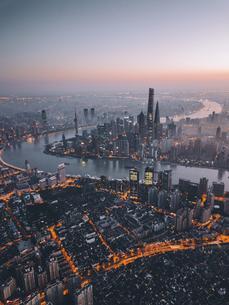Shanghai in Glorious Years,Chinaの写真素材 [FYI02349287]