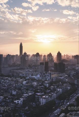 Haze,Chinaの写真素材 [FYI02349291]