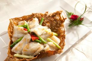 Fried fishの写真素材 [FYI02349296]