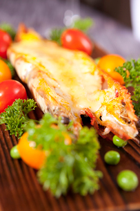 Fried lobsterの写真素材 [FYI02349393]