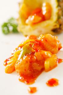 Pineapple fried porkの写真素材 [FYI02349395]