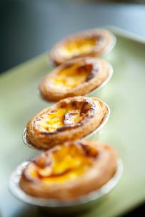 Egg tartsの写真素材 [FYI02349449]