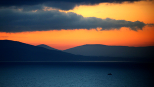 Dawn in the Mediterraneanの写真素材 [FYI02349534]