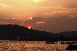 sunsetの写真素材 [FYI02349566]