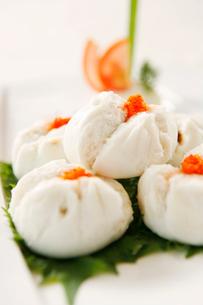 Crab dumplingsの写真素材 [FYI02349614]