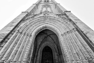 Myeong-dong Cathedral;Seoulの写真素材 [FYI02349713]