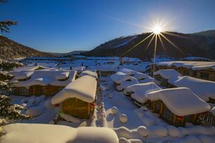 Snow Village storyの写真素材 [FYI02349721]