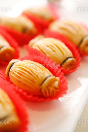 Pumpkin roll pastryの写真素材 [FYI02349722]