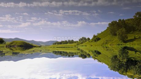 Jingpo Lake Scenic Spotの写真素材 [FYI02349847]