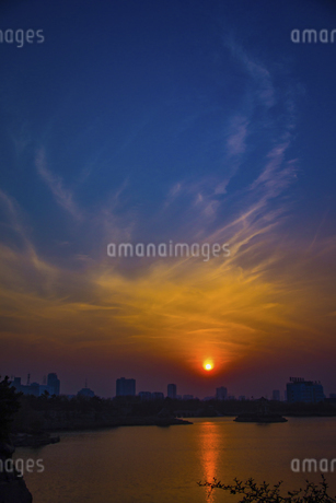 The sky before sunsetの写真素材 [FYI02349878]