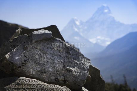 Ama Dablam,Nepalの写真素材 [FYI02349929]