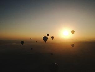 balloon flight,Cappadocia,Turkeyの写真素材 [FYI02349948]