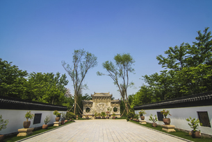 a place famous for its flowers,Yanling, Chinaの写真素材 [FYI02349950]