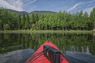 Canoeingの写真素材 [FYI02350130]