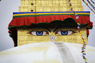 Swayambhunath,Buddhist templeの写真素材 [FYI02350166]