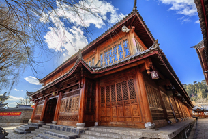 Dayan ancient town,Lijiang, Yunnan, Chinaの写真素材 [FYI02350231]