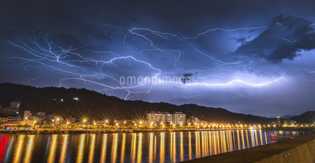 A feast of lightning,Chinaの写真素材 [FYI02350252]