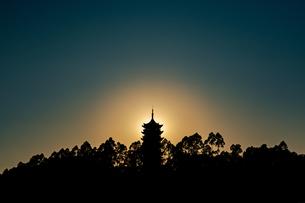 Pagoda,Chinaの写真素材 [FYI02350278]