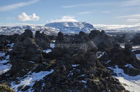 Lava Geography in Dimmuborgir,Icelandの写真素材 [FYI02350310]