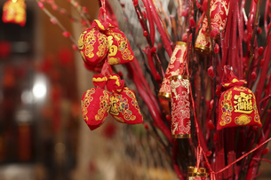 Decoration of Chinese New Yearの写真素材 [FYI02350355]