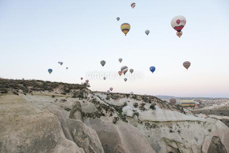 balloon flight,Cappadocia,Turkeyの写真素材 [FYI02350547]