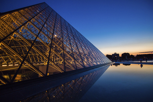 Louvre Museum, Paris, Franceの写真素材 [FYI02350578]