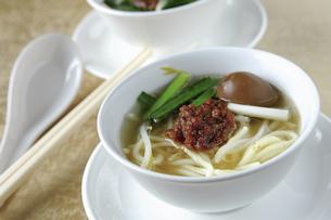 Dan zai noodles,Taiwanの写真素材 [FYI02350631]