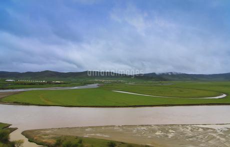 Hongyuan Moon Bay,Chinaの写真素材 [FYI02350755]