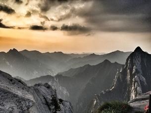 Huashan,Shanxi,Chinaの写真素材 [FYI02350773]