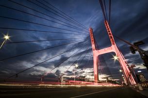 Bayi Bridge ,Nanchang,Jiangxi,Chinaの写真素材 [FYI02350802]
