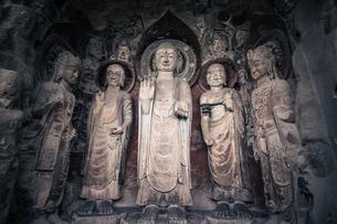 Guangyuan Huangze Temple,Sichuan,Chinaの写真素材 [FYI02350837]