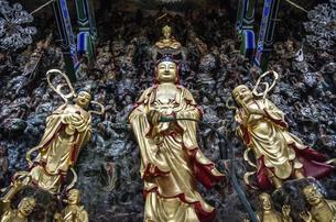 Buddha statue,Nanchang,Jiangxi,Chinaの写真素材 [FYI02350932]