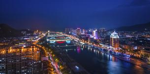 Nightscape,Chinaの写真素材 [FYI02351076]