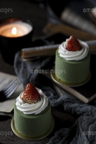 matcha cakeの写真素材 [FYI02351198]