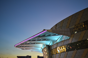 Nightscape in shopping malls,Chinaの写真素材 [FYI02351241]