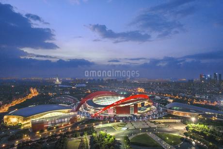 Olympic Sports Center,Nanjing, Jiangsu, Chinaの写真素材 [FYI02351329]