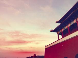 Building,Huaxi Village, Jiangyin City, Jiangsu Province, Chinaの写真素材 [FYI02351356]