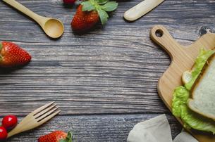 Food Background Panelの写真素材 [FYI02351442]