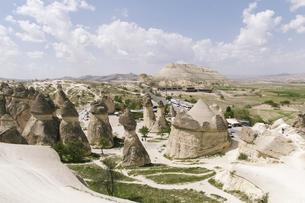 Fairy Chimneys,Cappadocia,Turkeyの写真素材 [FYI02351550]