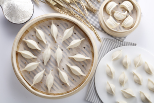 steamed dumplingの写真素材 [FYI02351568]