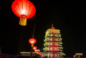 Glazed Pagoda,Chinaの写真素材 [FYI02351596]