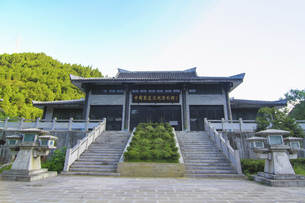 Mingyue Gorge,Sichuan, Chinaの写真素材 [FYI02351599]