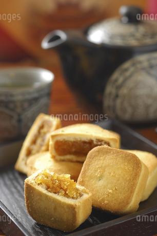 pineapple cake,Taiwanの写真素材 [FYI02351606]