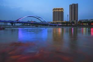 Nightscape,Chinaの写真素材 [FYI02351669]