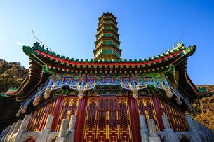 Fragrant Hills Park,Beijing, Chinaの写真素材 [FYI02351685]